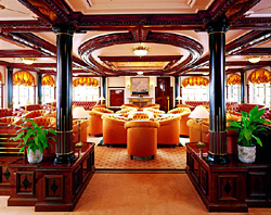 Lounge der Sea Cloud II